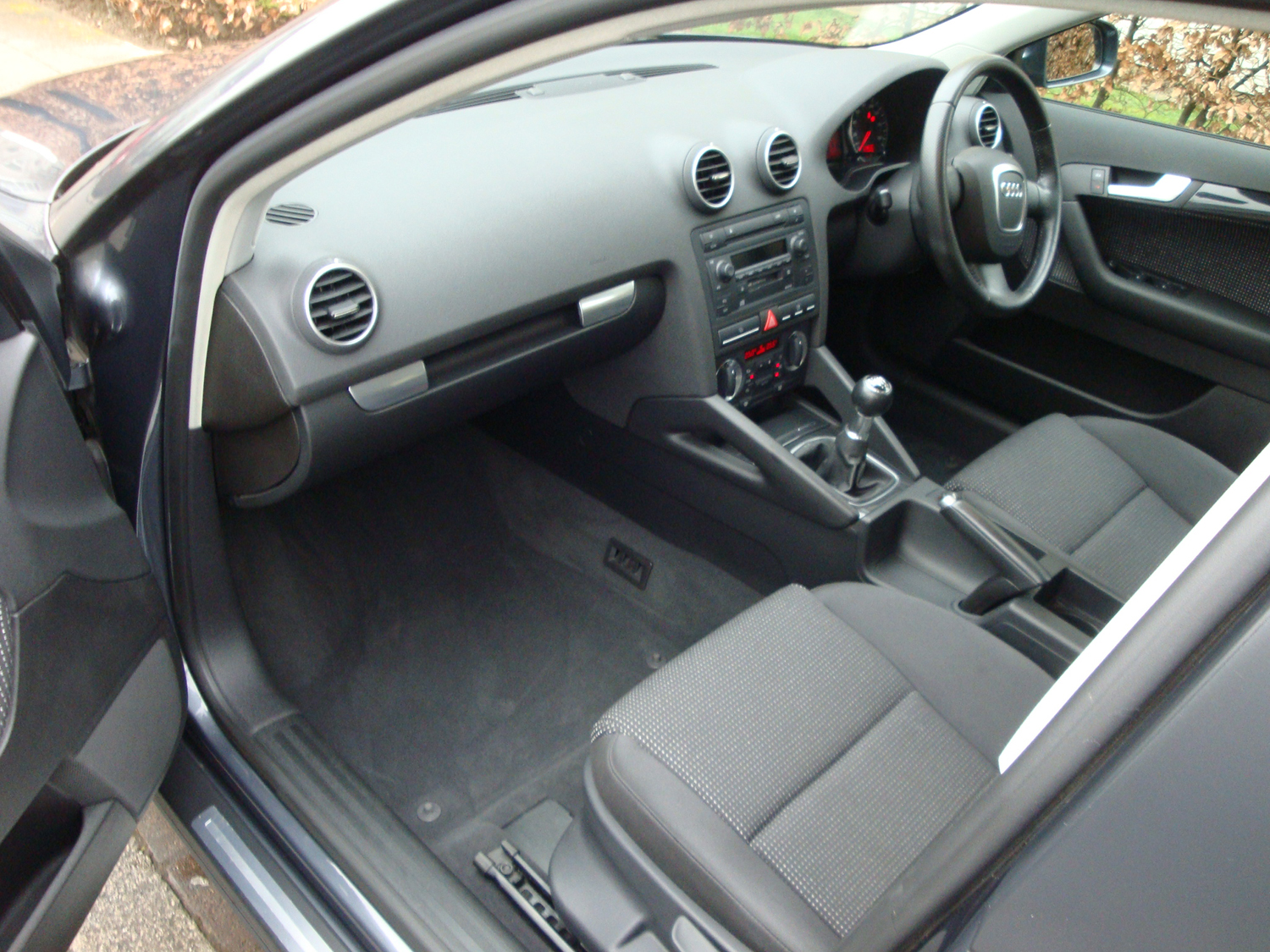Audi A3 Interior After Surrey Shine Car Valet