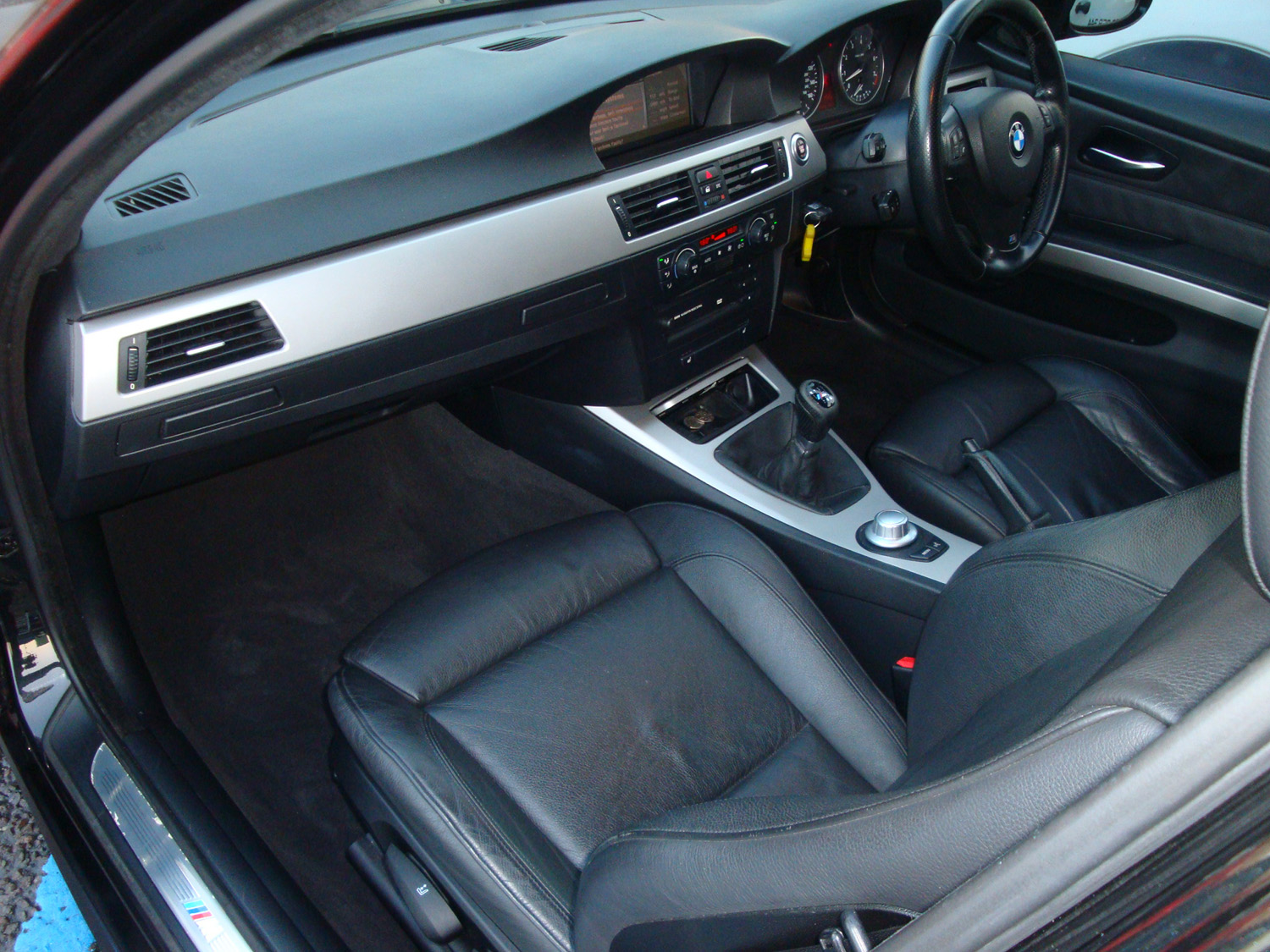Bmw 330i Interior After Surrey Shine Car Valet