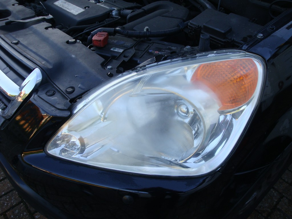 Cloudy Headlight Restoration - Before