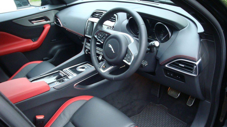 Jaguar F-Pace – Interior After | Surrey Shine Car Valet