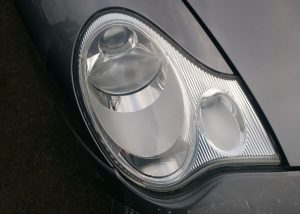 Porsche 911 Yellow/Frosted Headlight Surrey - After