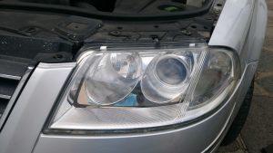 Volkswagen Passat cloudy headlight Surrey - After
