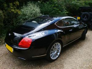 Bentley Continental GT Exterior After
