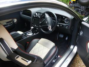 Bentley Continental GT Interior After