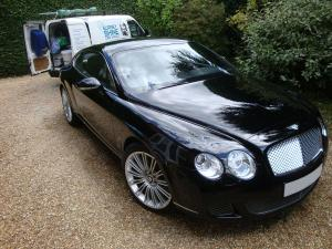 Bentley Continental GT Exterior After