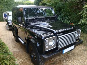 Land Rover Defender Exterior After