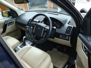 Land Rover Freelander 2 Interior After