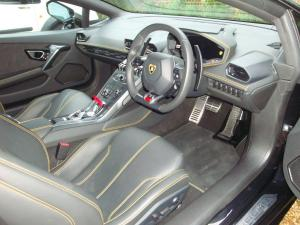 Lamborghini Huracan Interior- After