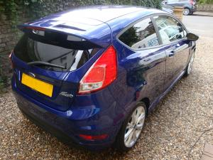 Ford Fiesta Exterior After