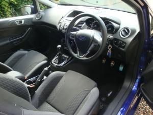 Ford Fiesta Interior After