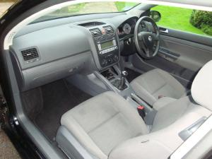 Volkswagen Golf Interior After