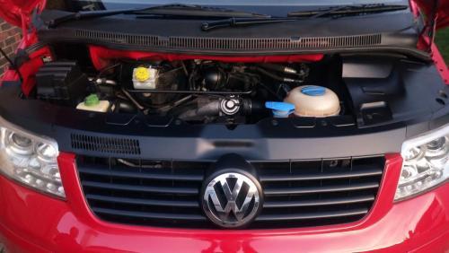 Volkswagen Transporter Camper Van Exterior  - After