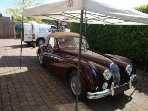 Jaguar XK140 Exterior Correction Detail