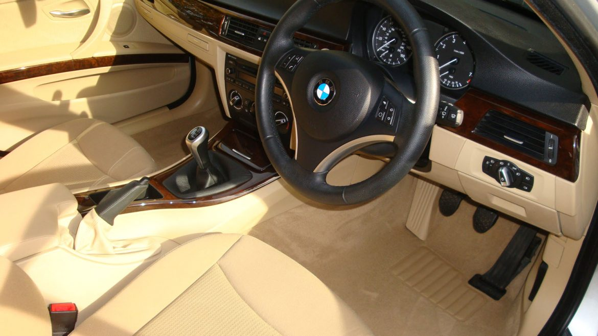 Bmw 3 Series Touring Interior After Surrey Shine Car Valet