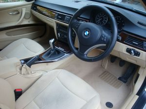 Bmw 3 Series Touring Interior Before Surrey Shine Car Valet