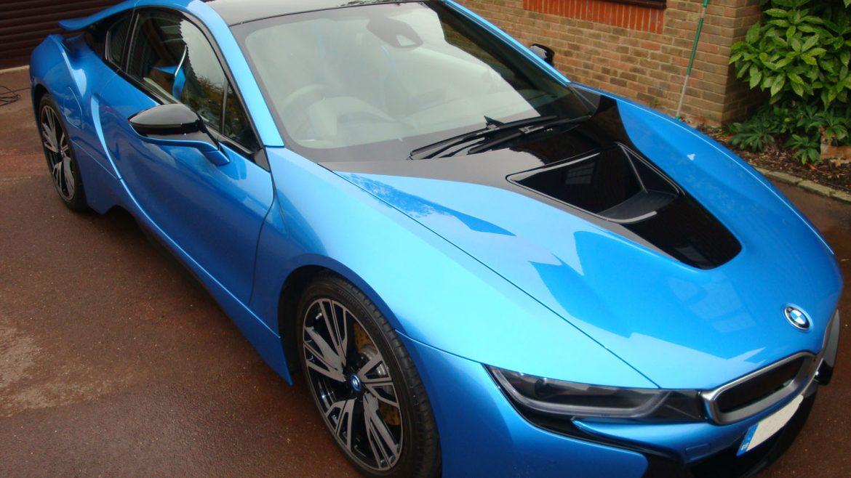 I8 Exterior: BMW I8 – Exterior After