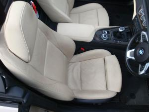 BMW Z4 Interior Valet Before