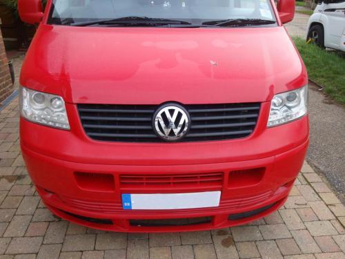 Volkswagen Transporter Camper Van Exterior  - Before