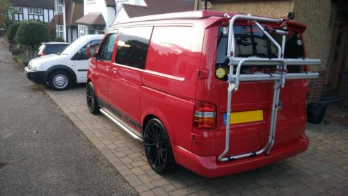 Volkswagen Transporter Camper Van Exterior  - After